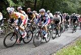 """""""Tour of Britain"""" dviračių lenktynių antrajame etape lietuviai liko toli nuo lyderių"""