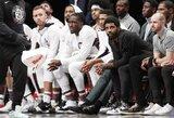 """""""Nets"""" prieš I.Brazdeikio ekipą pataikė vos aštuonis dvitaškius"""