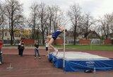 Šuolininkas į aukštį A.Glebauskas Europos jaunimo čempionate užėmė 8-ą vietą
