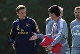 """U.Emery karas su M.Ozilu tęsiasi: """"Tai yra viso klubo sprendimas"""""""
