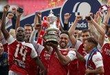 """P.E.Aubameyango dublis padovanojo """"Arsenal"""" FA taurę ir kelialapį į Europos lygą"""