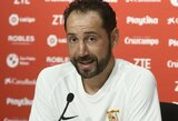 """""""Sevilla"""" treneris P.Machinas ragina nenuvertinti """"Žalgirio"""""""