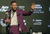 """C.McGregoras atskleidė savo atsarginį planą, jei C.Nurmagomedovas pasitrauks iš """"UFC 229"""" turnyro"""