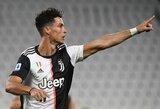 """Apie naujausią rekordą kalbėti atsisakęs C.Ronaldo: """"Svarbiausia – komandos pergalė"""""""