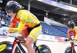 Lietuvės sėkmingai pradėjo Europos dviračių treko čempionatą
