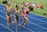 Bėgikė G.Galvydytė su antru rezultatu pateko į Europos jaunimo čempionato pusfinalį
