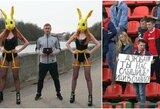 Futbolas Baltarusijoje: keista apdovanojimų ceremonija, fano žinutė A.Dziubai ir baimė žaisti Vitebske
