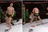 """Cage Warriors 102"": įspūdingai atsitiesęs M.Bukauskas nokautavo lenką"