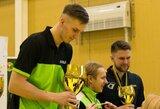 M.Stankevičius išvyko į Europos jaunimo stalo teniso čempionatą, K.Riliškytė kvietimo atsisakė