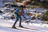 D.Wierer išplėšė pergalę pasaulio biatlono čempionate, lietuvėms trūko tikslumo