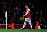 """""""Arsenal"""" vadovai palaiko ne M.Ozilą, o U.Emery: """"Gerai žaisti reikia 24 valandas per parą, 7 dienas per savaitę"""""""