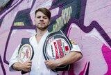 """Laikinasis """"MMA Bushido"""" čempionas E.Fokinas: apie norą būti """"blogiuku"""", karatė ypatumus ir kietąjį I.Barysą"""