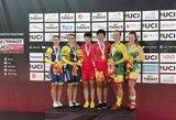 Lietuvos dviratininkėms – pasaulio taurės varžybų bronza!