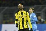 """""""Borussia"""" prezidentas: """"P.E.Aubameyangas buvo sugniuždytas kitų klubų pasiūlymų"""""""