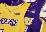 """""""Lakers"""" ir """"Heat"""" pristatė savo rėmėjus"""