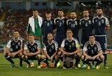 Škotija paskelbė sudėtį rungtynėms su Lietuva