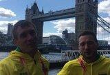 """Pirmieji istorijoje Lietuvos vyrai, įveikę maratono trasą pasaulio čempionate: """"Bandome tai suvokti, tačiau kol kas dar nepavyko"""""""