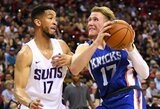 """I.Brazdeikis mėgaujasi """"Knicks"""" komandos suteikta laisve"""
