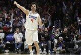"""M.Teodosičius pratęsė sutartį su """"Clippers"""""""