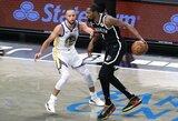 """""""Nets"""" sezoną pradėjo sutriuškindama """"Warriors"""""""
