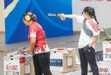 Pasaulio jaunimo šaudymo čempionate į finalą patekusi Gabrielė Rankelytė – 7-a