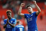 """Leicester City"" treneris B.Rodgersas patvirtino: H.Maguire'as kelsis į ""Manchester United"""