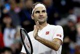 Prestižiniame ATP 1000 turnyre Šanchajuje paaiškėjo pusfinalio poros