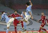 """""""Premier"""" lygoje – K.De Bruyne nerealizuotas 11 m baudinys ir """"Man City"""" lygiosios su """"Liverpool"""""""