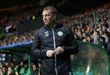 """Oficialu: B.Rodgersas dar ilgai treniruos """"Celtic"""" klubą"""