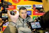 """Apie svarbaus gynėjo būklę prabilęs D.Kulevičius: """"Po pirmų 3 įvarčių komanda nebesilaikė žaidimo plano"""""""