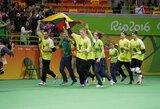 Parolimpiniams čempionams – naujas tarptautinis golbolo turnyras Trakuose