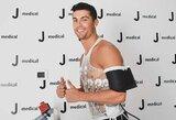 """Į Turiną sugrįžusi """"Juventus"""" žvaigždė C.Ronaldo atliko testus"""