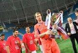 Vartininkas G.Arlauskis ketvirtą kartą tapo Rumunijos čempionu
