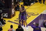 """NBA nustatyti šeši nauji viruso atvejai, iš jų du – """"Lakers"""" komandoje"""