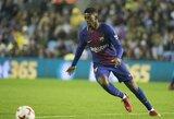 """""""Barcelona"""" talentas O.Dembele patyrė traumą"""