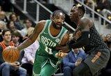 """K.Irvingo ir J.Browno duetas nukalė 15-ąją """"Celtics"""" pergalę paeiliui"""