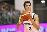 Europos čempionatas prasidėjo galingu G.Dragičiaus žaidimu ir Slovėnijos pergale