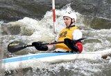 Lietuvos baidarių slalomo meistrai nepateko į Europos čempionato pusfinalį
