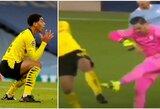 """Grubi teisėjo klaida? """"Borussia"""" liejo pyktį dėl neįskaityto įvarčio"""