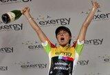 K.Sosnos komanda pasaulio plento dviračių čempionate liko 16-a