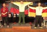 K.Malevskiui – mažasis Europos jaunimo jėgos trikovės čempionato auksas