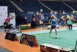 Badmintono turnyre Panevėžyje V.Fomkinaitė pateko į aštuntfinalį
