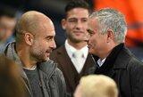 """P.Guardiola atsikirto J.Mourinho: """"Jis gal gydytojas?"""""""