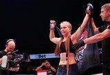 """Dėl """"Invicta"""" čempionės titulo kovosianti J.Stoliarenko: """"Esu """"underdog'as"""" ir tai man patinka"""""""