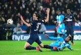 """""""Marseille"""" nutraukė PSG pergalių seriją"""
