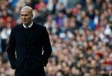 Z.Zidane'as ragina klubo fanus atstoti nuo C.Ronaldo ir parodyti palaikymą