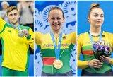 R.Tvorogalo auksas padėjo Lietuvai aplenkti Suomiją, Ukraina po galingo finišo užėmė trečią vietą