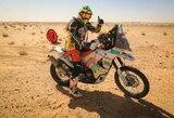 Mauritaniją įveikęs T.Jančys artėja prie finišo Dakare