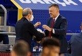 """Š.Jasikevičius: """"Tai pirmos mūsų rungtynės, kurias laimėjome tokiu būdu"""""""