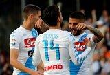 """Pamatykite: įspūdinga """"Napoli"""" klubo treniruotė"""